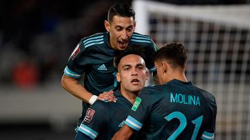 Argentina le ganó 1-0 a Perú y quedó a un paso de sacar pasaje para el Mundial de Qatar 2022
