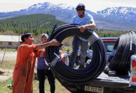 Neuquén: el ministerio de Turismo entregó materiales para el camping de Quillén